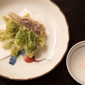 春野菜の天婦羅